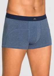 Lot de 3 boxers, bpc bonprix collection, bleu chiné