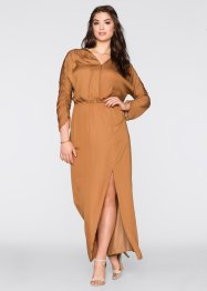 Robe ultra-longue, BODYFLIRT, bronze