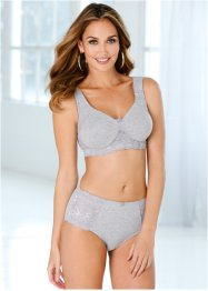 Soutien-gorge moulé, bpc bonprix collection, gris chiné