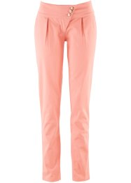 Pantalon chino mode, bpc bonprix collection, corail clair