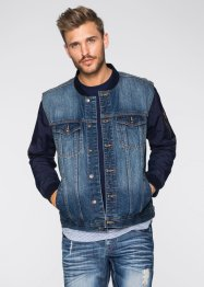 Blouson en jean Regular Fit, RAINBOW, bleu used