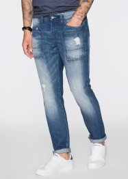 Jean Regular Fit Tapered, RAINBOW, bleu stone used