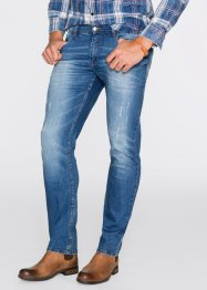 Jean extensible Slim Fit Straight, John Baner JEANSWEAR, bleu