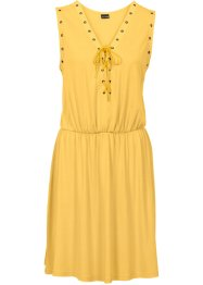 Must-Have : Robe avec laçage, BODYFLIRT, jaune