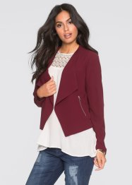 Blazer, BODYFLIRT, rouge érable