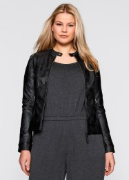 Veste simili, bpc bonprix collection, noir