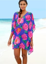Tunique de plage, bpc selection, bleu/fuchsia