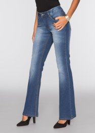 Jean extensible Flared, BODYFLIRT, bleu stone denim