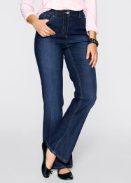 Jean extensible bootcut, bpc bonprix collection, dark denim