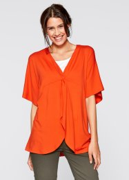 Tunique, bpc bonprix collection, rouge mandarin