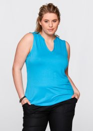 Top, bpc bonprix collection, turquoise