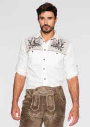 Chemise bavaroise Regular Fit, bpc selection, blanc
