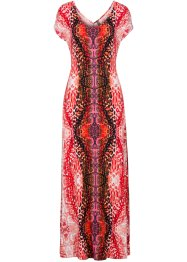 Robe, BODYFLIRT boutique, orange foncé multicolore