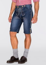 Bermuda en jean bavarois Regular Fit, bpc selection, bleu stone