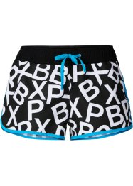 Short de plage, bpc bonprix collection, noir/blanc