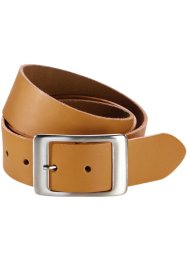 Ceinture en cuir Kayla, bpc bonprix collection, miel