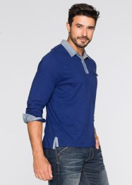T-shirt manches longues Regular Fit, John Baner JEANSWEAR, bleu