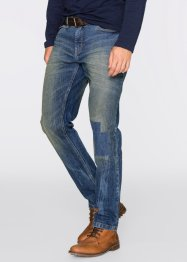Jean extensible Regular Fit tapered, John Baner JEANSWEAR, bleu
