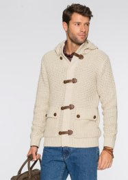 Gilet en maille Regular Fit, bpc bonprix collection, beige