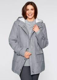 Manteau avec doublure peluche, bpc bonprix collection, rose dragée