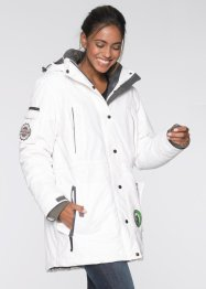 Veste fonctionnelle outdoor 3en1, bpc bonprix collection, blanc cassé