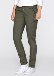Chino Boyfriend, bpc bonprix collection, olive foncé