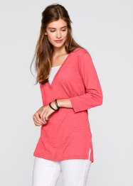 T-shirt 2en1 manches 3/4, bpc bonprix collection, fuchsia clair