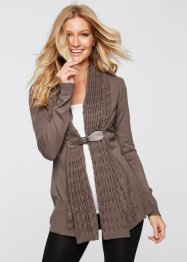 Gilet en maille, BODYFLIRT boutique, marron
