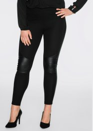 Legging, BODYFLIRT, gris chiné