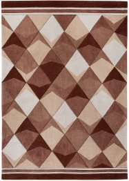 Tapis Léa, bpc living, marron