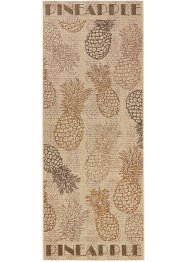 Tapis de passage Ananas, bpc living, marron