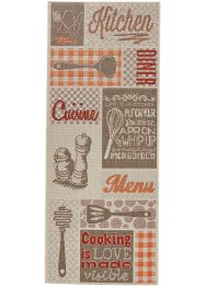 Tapis de passage Cooking, bpc living, multicolore