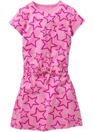 Robe T-shirt imprimée, bpc bonprix collection, rose