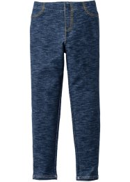 Legging aspect jean, bpc bonprix collection, bleu foncé chiné