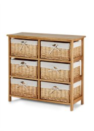 Commode Jessica, bpc living, bois naturel