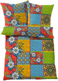 Linge de lit Patch, bpc living, multicolore