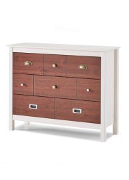 Commode Helsinki, bpc living, blanc/naturel