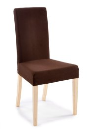 Housse de chaise Ina, bpc living, marron