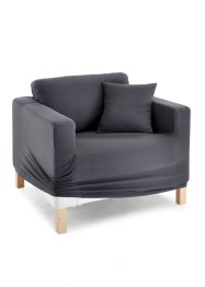 Housse Ina, bpc living, gris