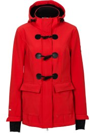Veste duffel-coat softshell, bpc bonprix collection, fraise