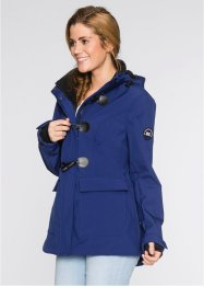 Veste duffel-coat softshell, bpc bonprix collection, bleu nuit