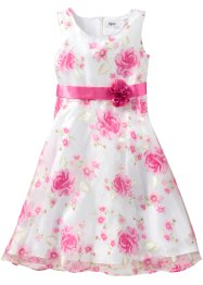 Robe de fête, bpc bonprix collection, blanc/fuchsia