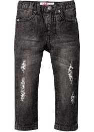 Jean look destroy, John Baner JEANSWEAR, anthracite denim used