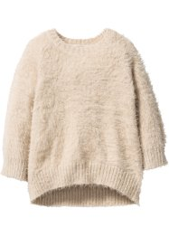 Pull duveteux, bpc bonprix collection, beige sable