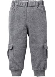 Pantalon sweat, bpc bonprix collection, gris chiné