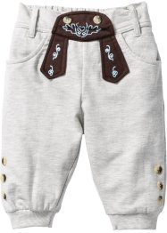 Pantalon sweat Oktoberfest, bpc bonprix collection, écru chiné imprimé