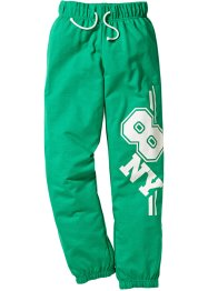 Pantalon sweat, bpc bonprix collection, vert menthe