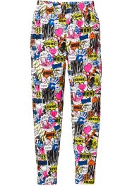 Legging long, bpc bonprix collection, imprimé multicolore