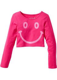 T-shirt boxy, bpc bonprix collection, fuchsia foncé