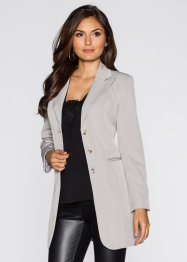 Blazer long, BODYFLIRT, gris clair